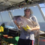 Catching fish with Jazz charters
