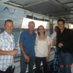 Party on the boat Jazz charters