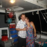 Party on the boat