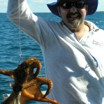 Catching Octopus with Jazz charters